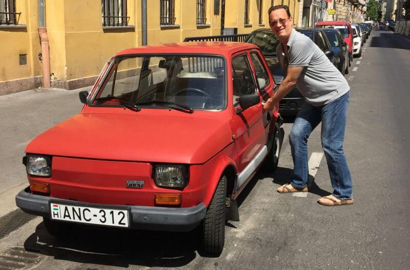 Tom Hanks Gifted His Favorite Fiat