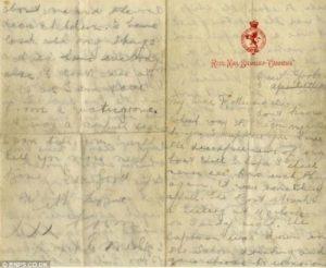 Lettere che testimoniano l'accaduto