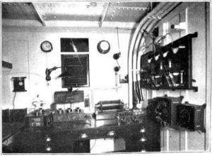 La sala di comunicazione