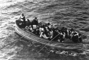 I passeggeri che aspettano di essere salvati