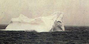 L'iceberg da vicino