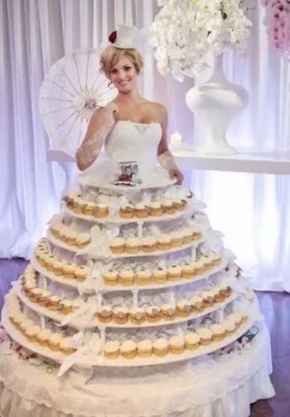 La Mariée Dans Le Gâteau