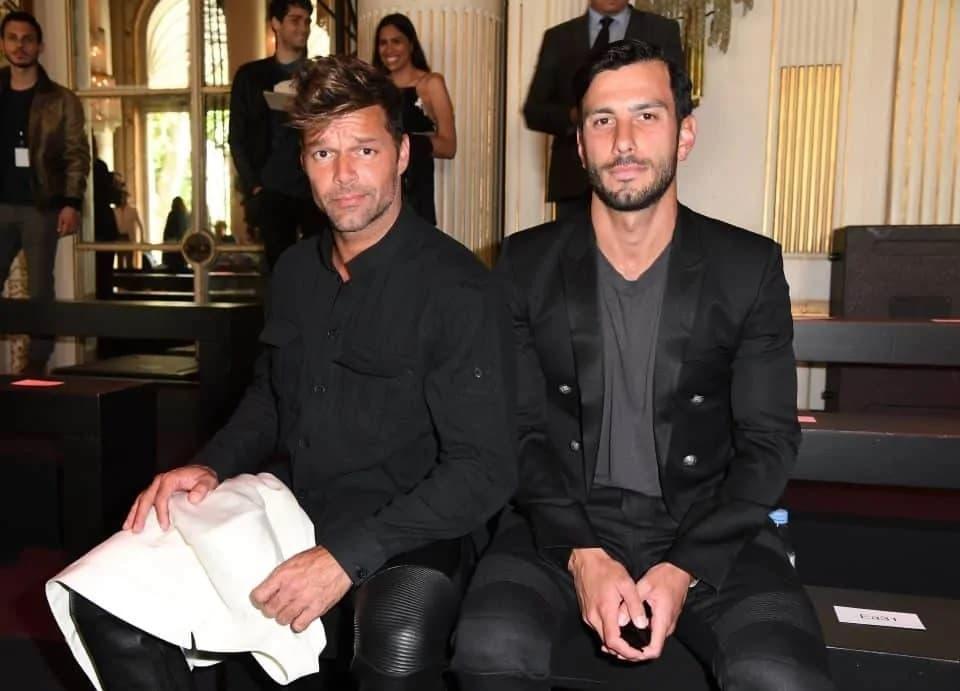 Ricky Martin Et Jwan Yosef