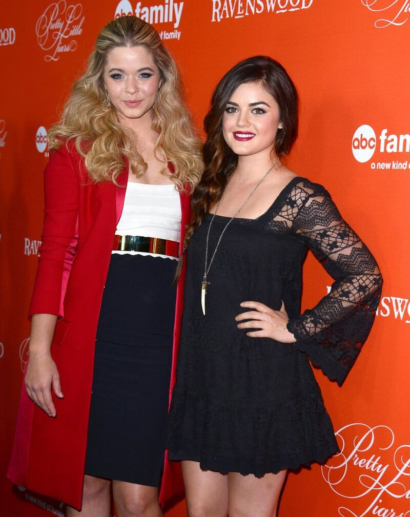 Lucy Hale 5'2""