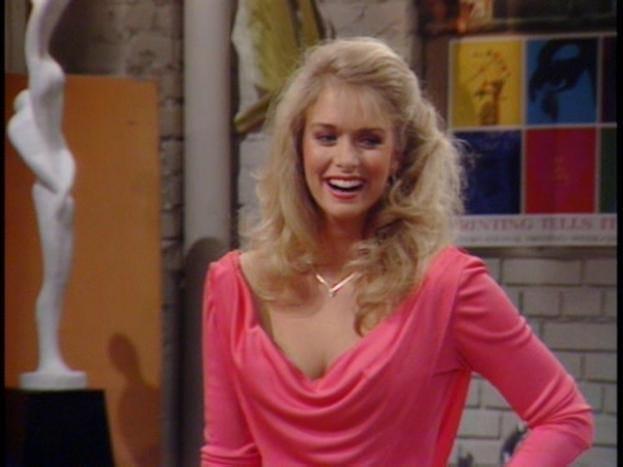 Donna Dixon Then