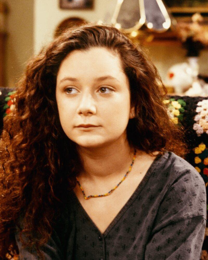 Sara Gilbert – Then