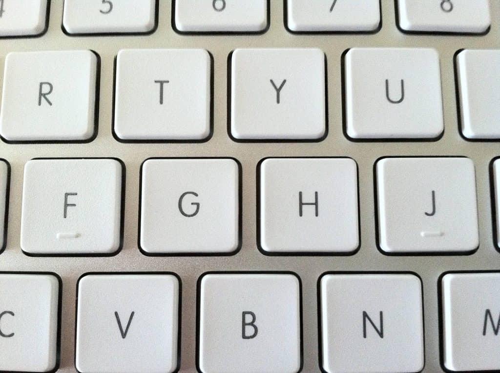 Doppelte Tastaturunebenheiten