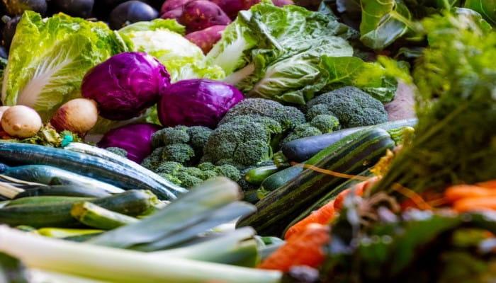 従来の野菜・果物