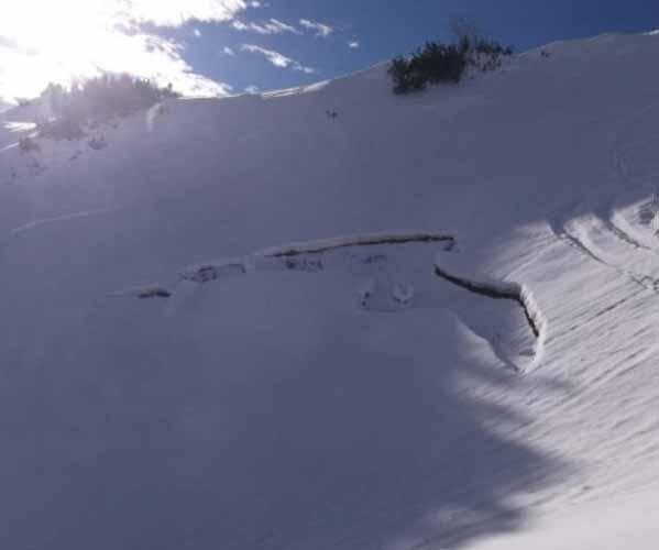 Nieve Agrietada