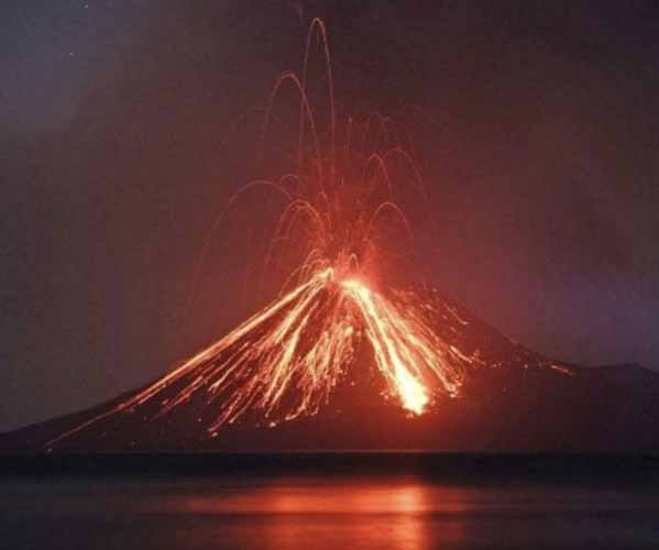 Vapor Antes De La Erupción