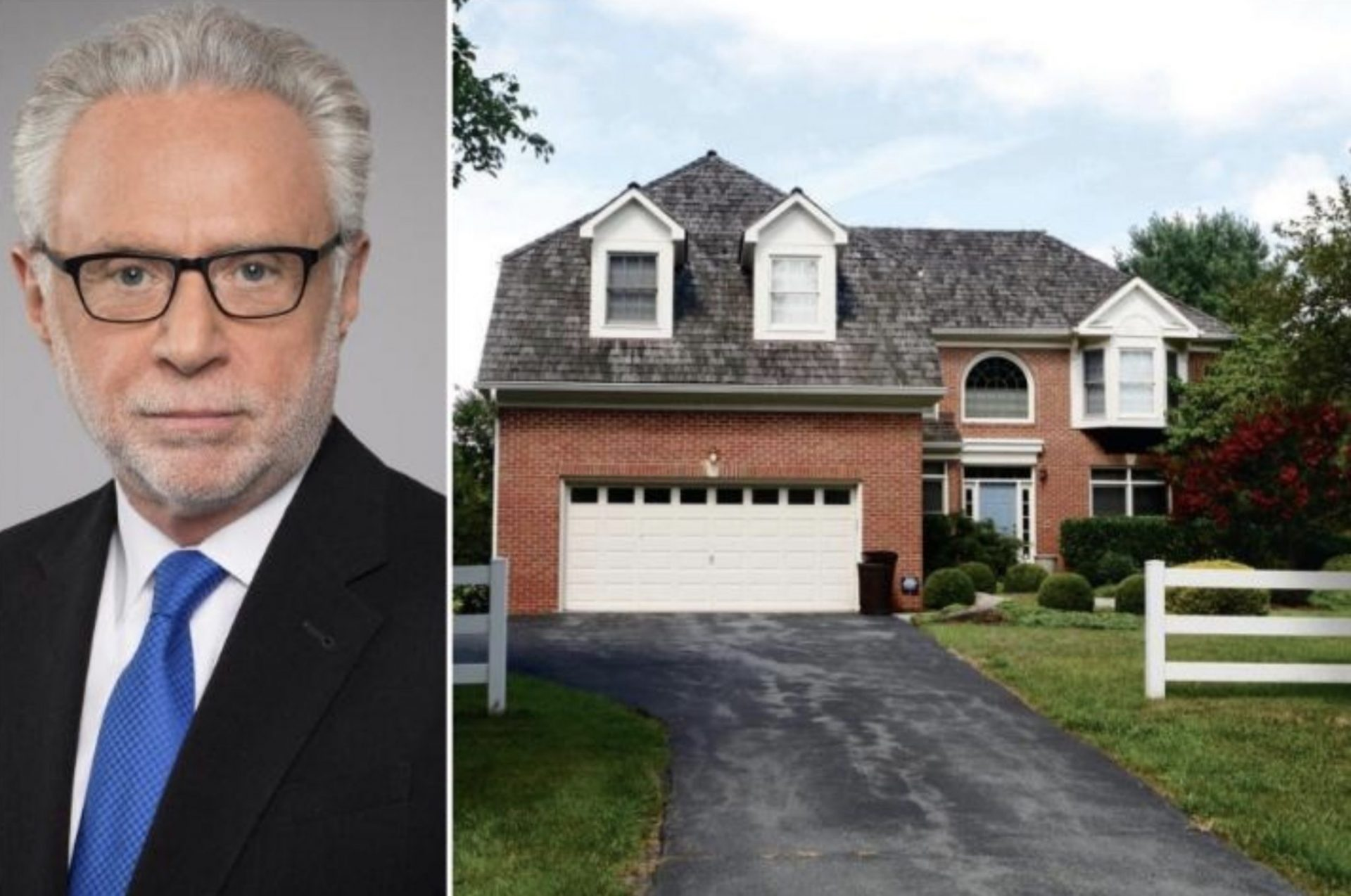 Wolf Blitzer's Home In Maryland ($1.34 Million)