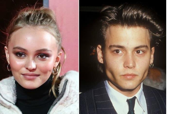 Lily Rose Depp Johnny Depp