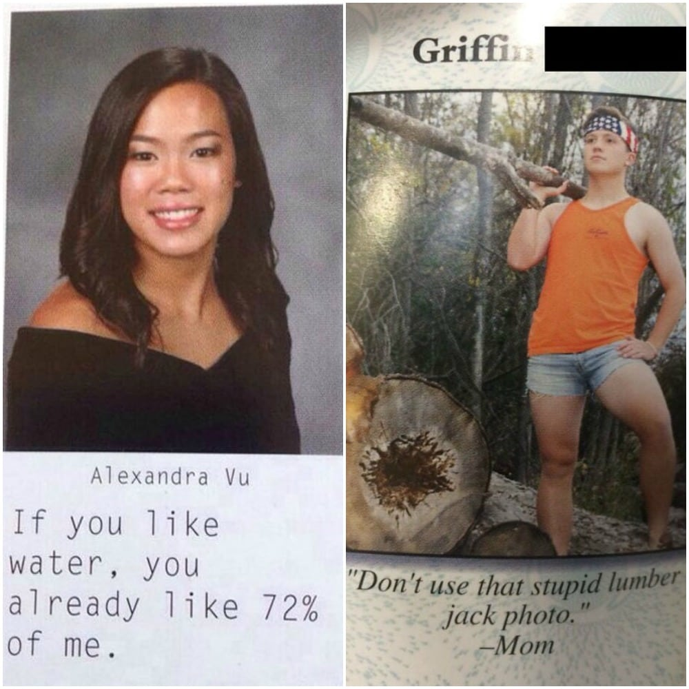 These Amazing Yearbook Quotes Show Us That High School Seniors Really Don't Care Anymore