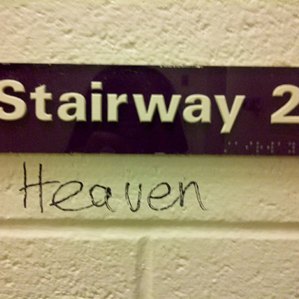 This Stairway Goes To Heaven