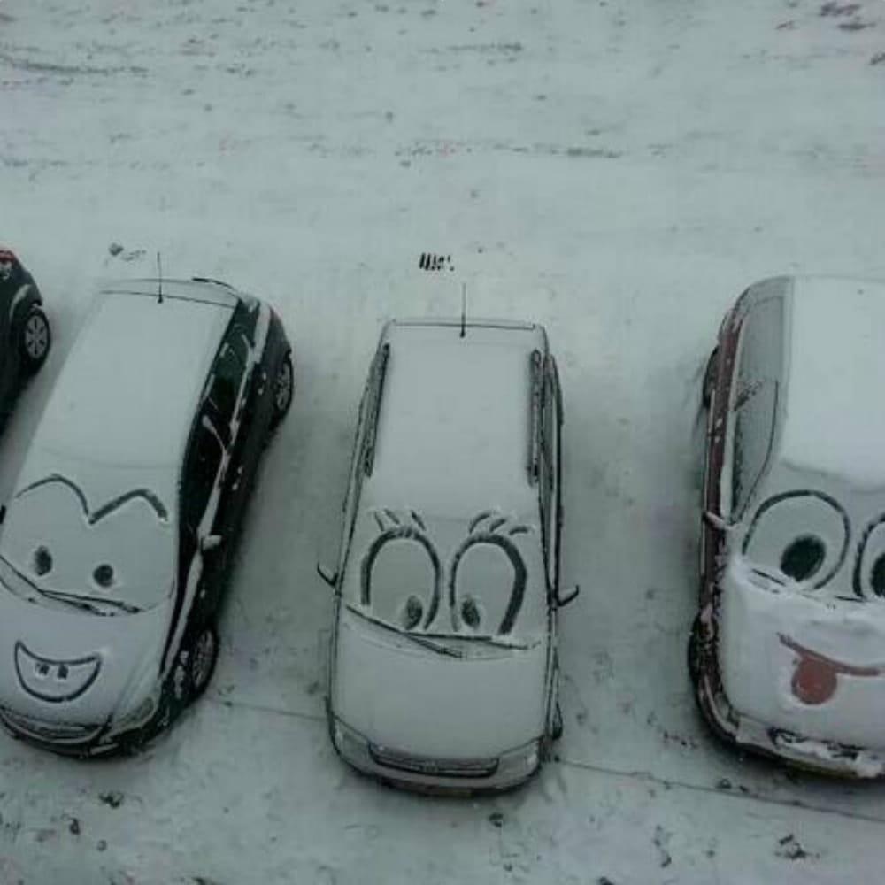 Vandalism In The Winter