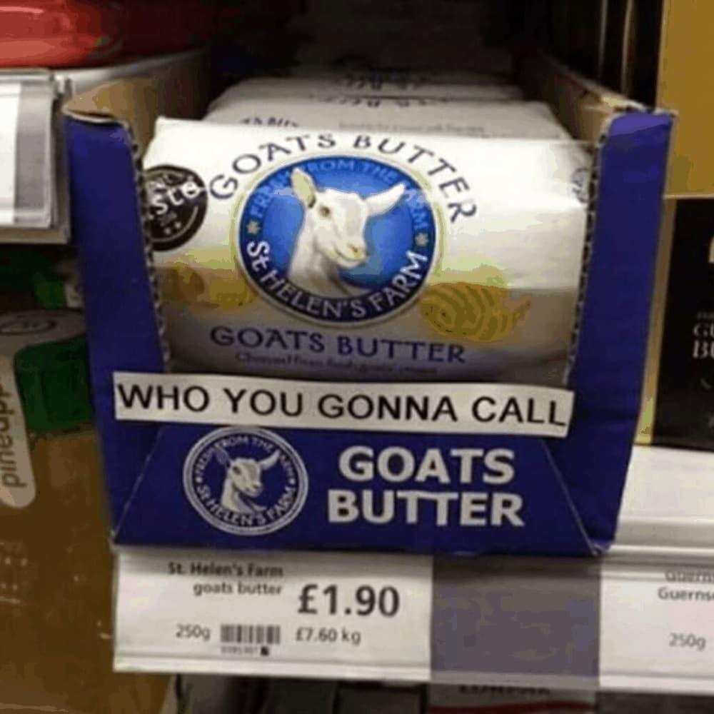 Call The Goats Butter