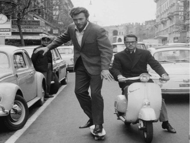 """Clint Eastwood (6'4"""")"""