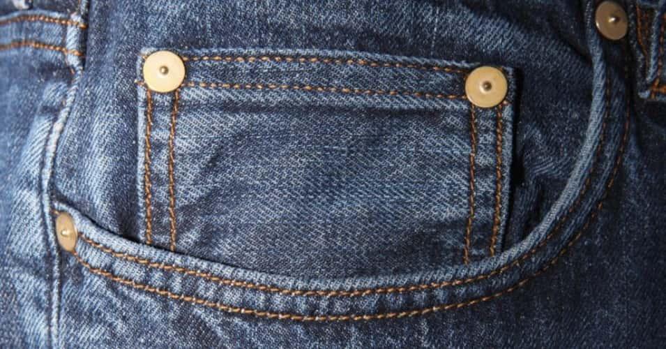 Botões Aleatórios Dos Jeans