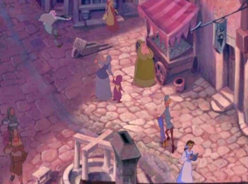 Disney's The Hunchback Of Notre Dame – Street Scene