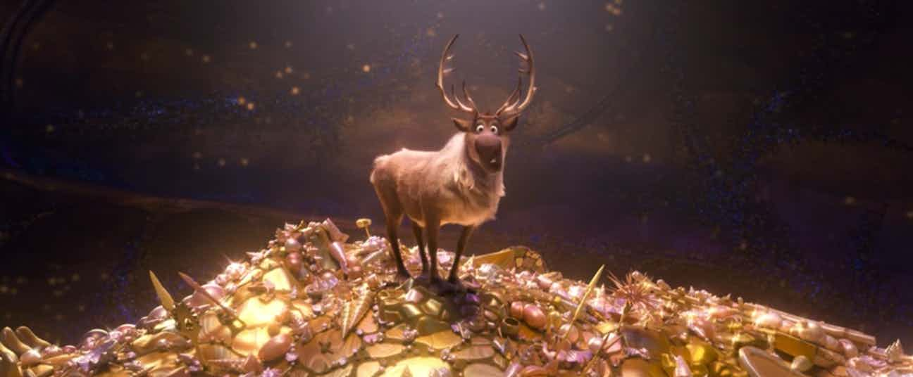 Moana – The Animal Transformation Scene