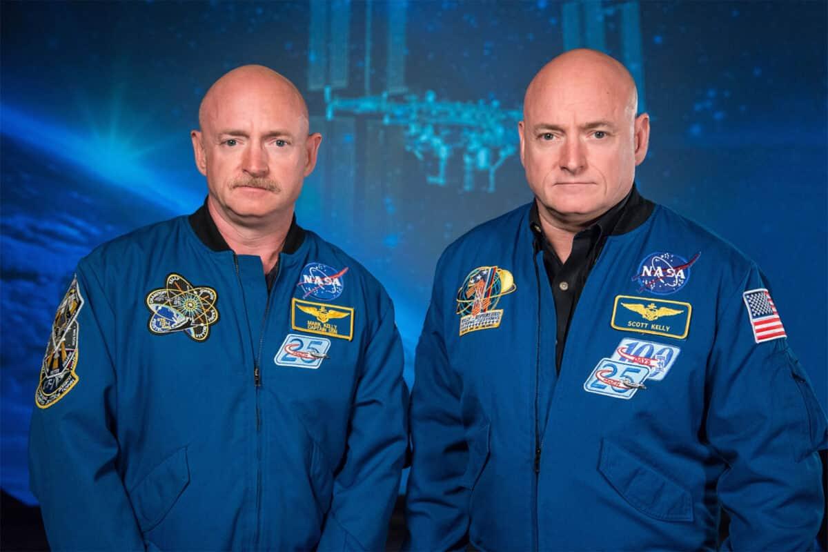 NASA Twins Mark And Scott Kelly