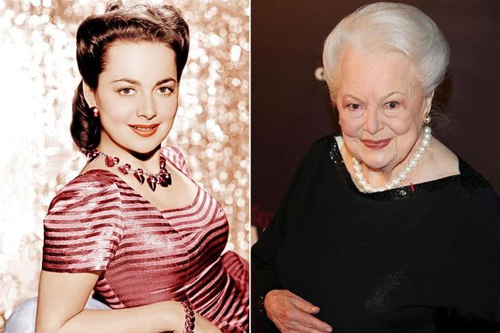 Olivia De Havilland – Age 104