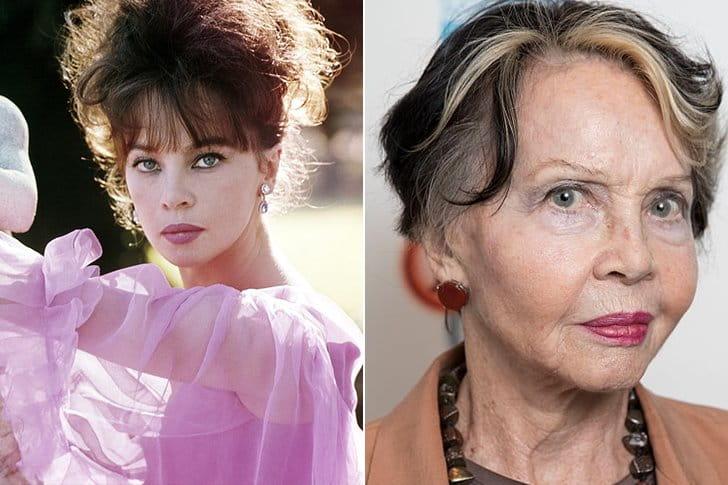 Leslie Caron – Age 89