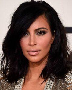 Kim Kardashian e lo stile Bob