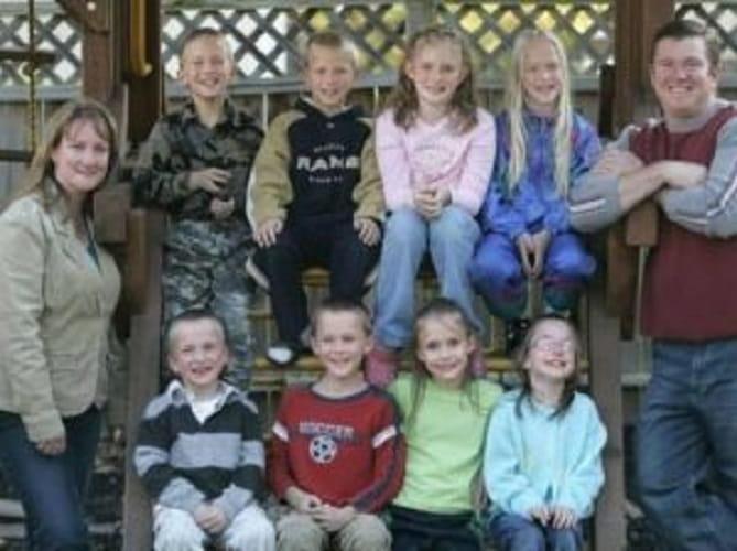 La Famiglia McCaughey Al Completo