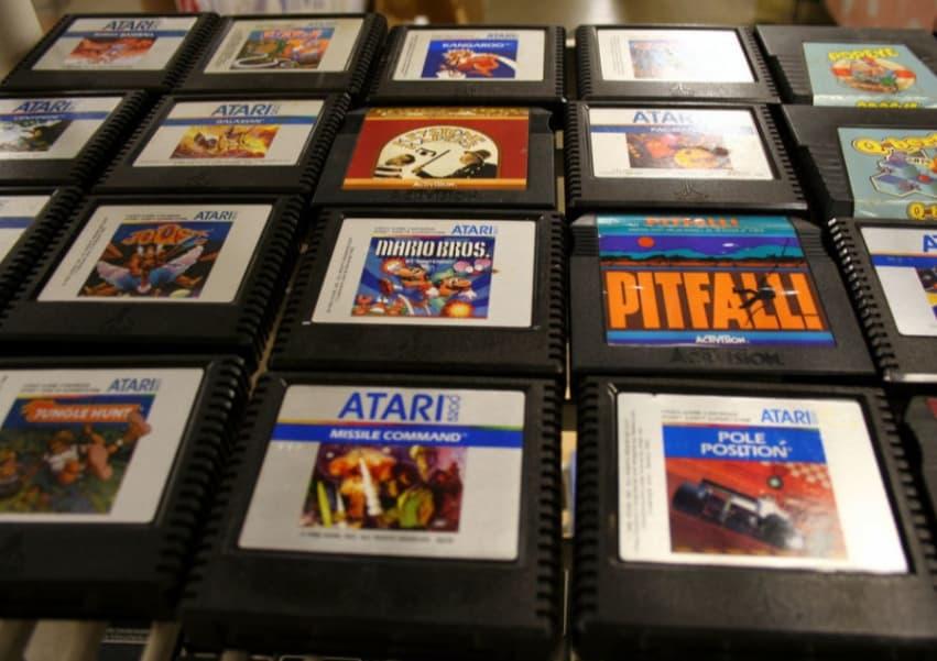 Vintage Atari Cartridges