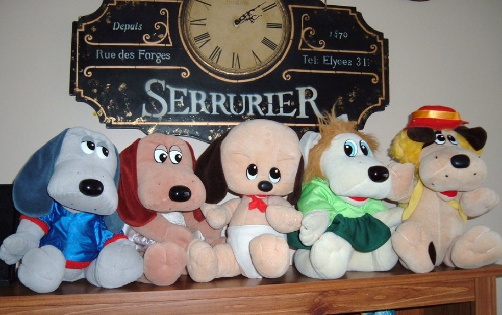 First Edition Pound Puppies Plush