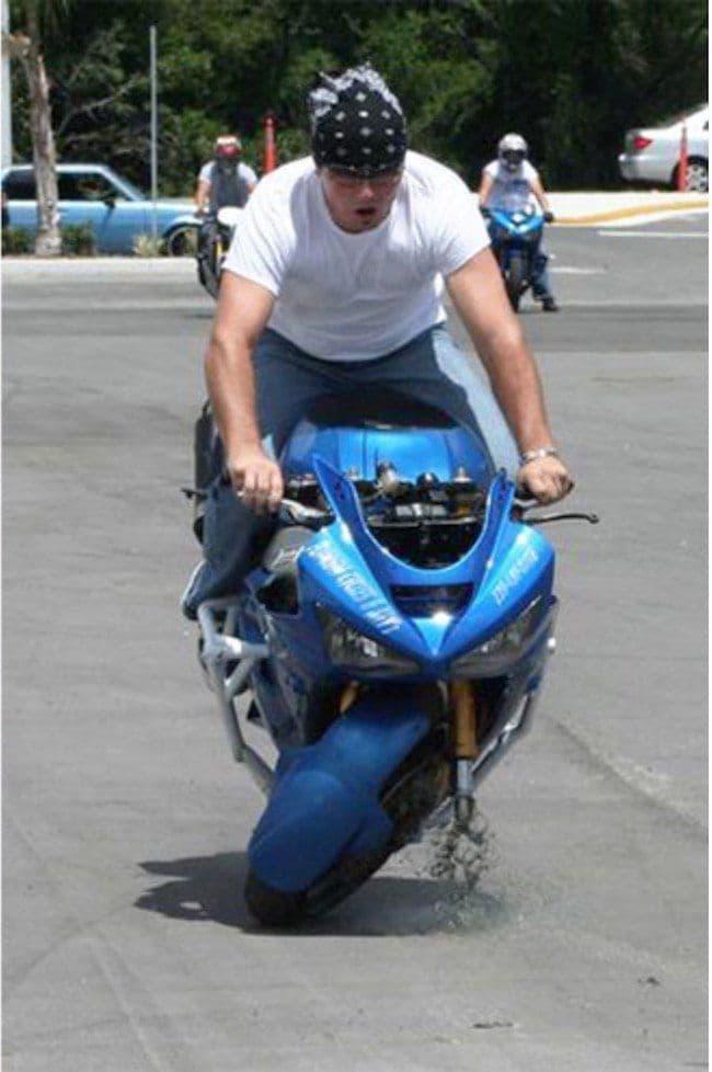 El Mayor Invertido En Moto Del Mundo