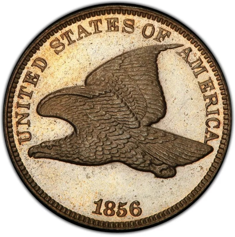 1856 Flying Eagle Penny Front