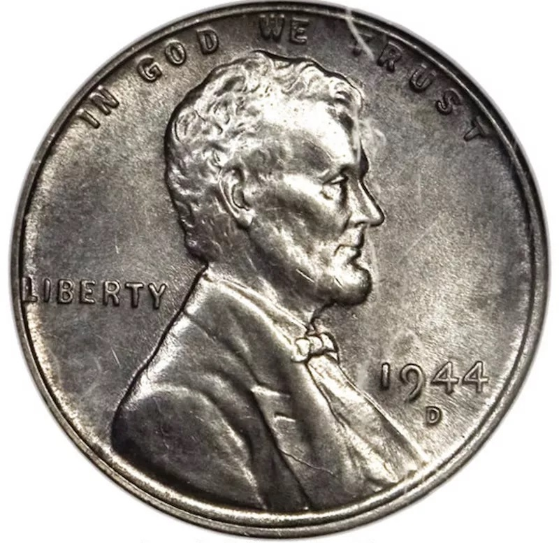 1944 D Lincoln Penny Front
