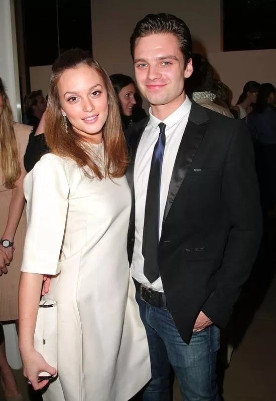 Sebastian Stan And Leighton Meester