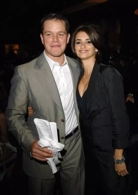 Penélope Cruz And Matt Damon