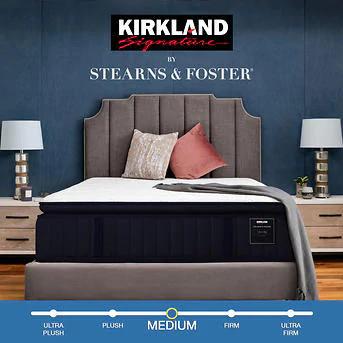 Kirkland Signature Mattress Stearns & Foster