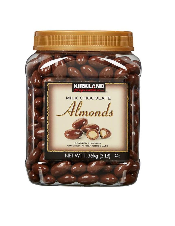 Kirkland Signature Milk Chocolate Almonds Blommer Chocolate