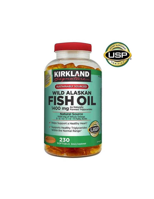 Kirkland Signature Wild Alaskan Fish Oil Trident Seafoods