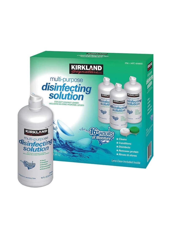 Kirkland Signature Contact Solution BioTru