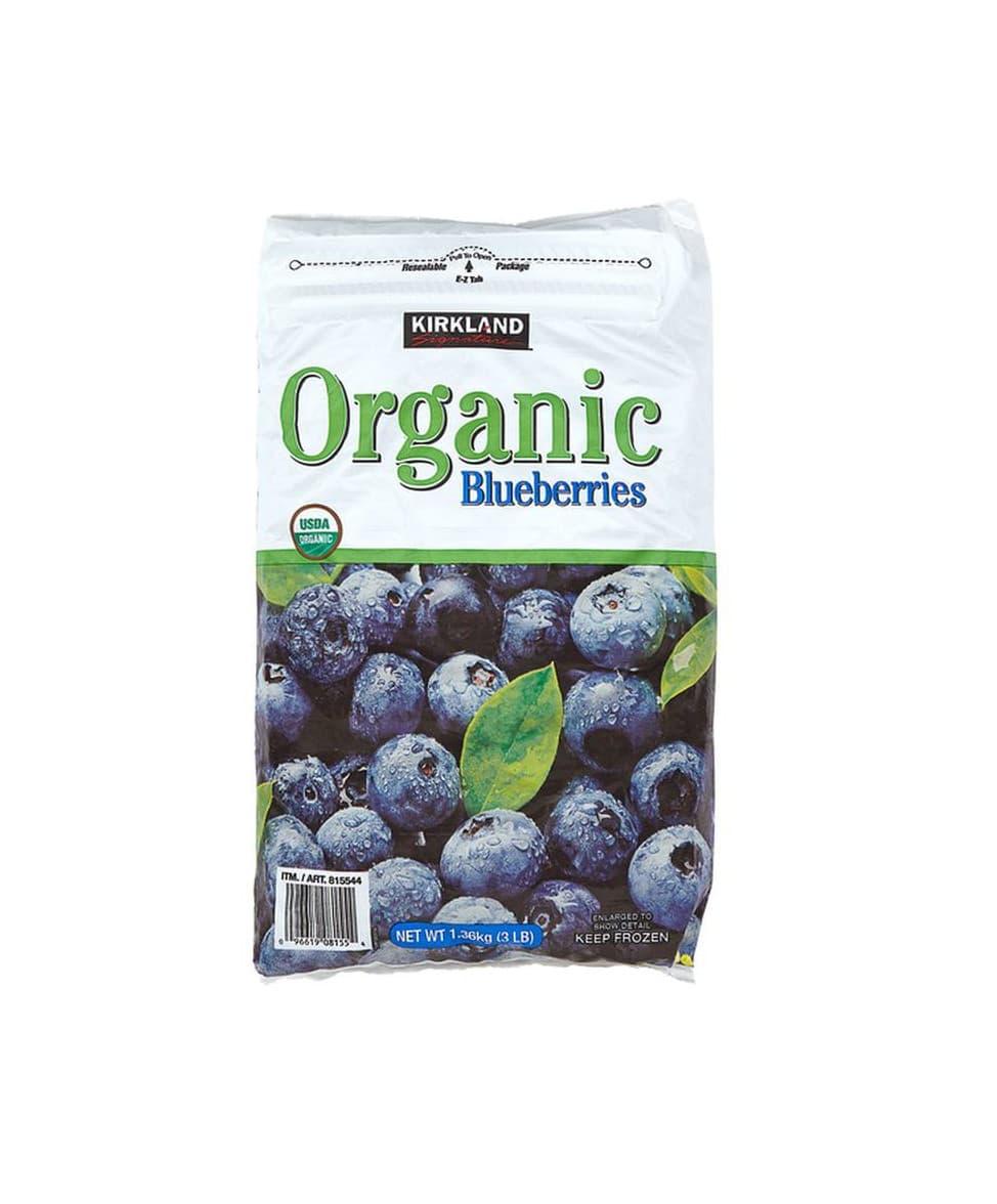 Kirkland Signature Organic Blueberries Scenic Fruit Company