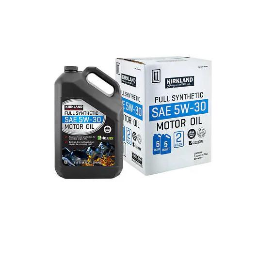 Kirkland Signature Motor Oil Warren Motor Oil