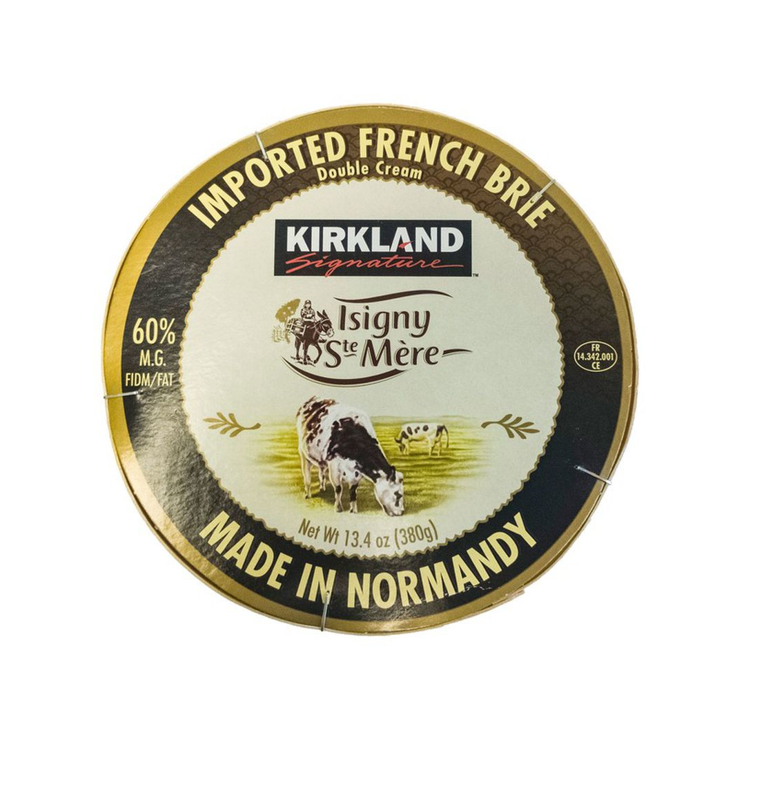 Kirkland Signature Isigny French Brie Isigny Ste Mère Brie