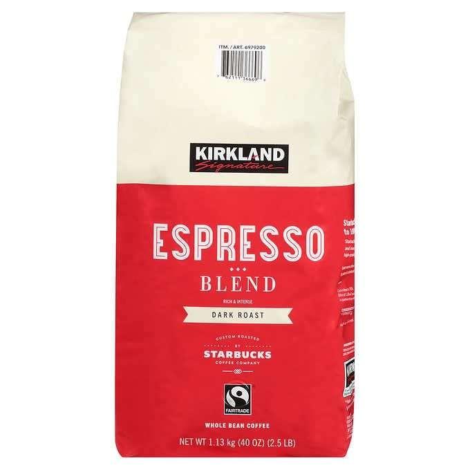 Kirkland Signature Coffee Starbucks