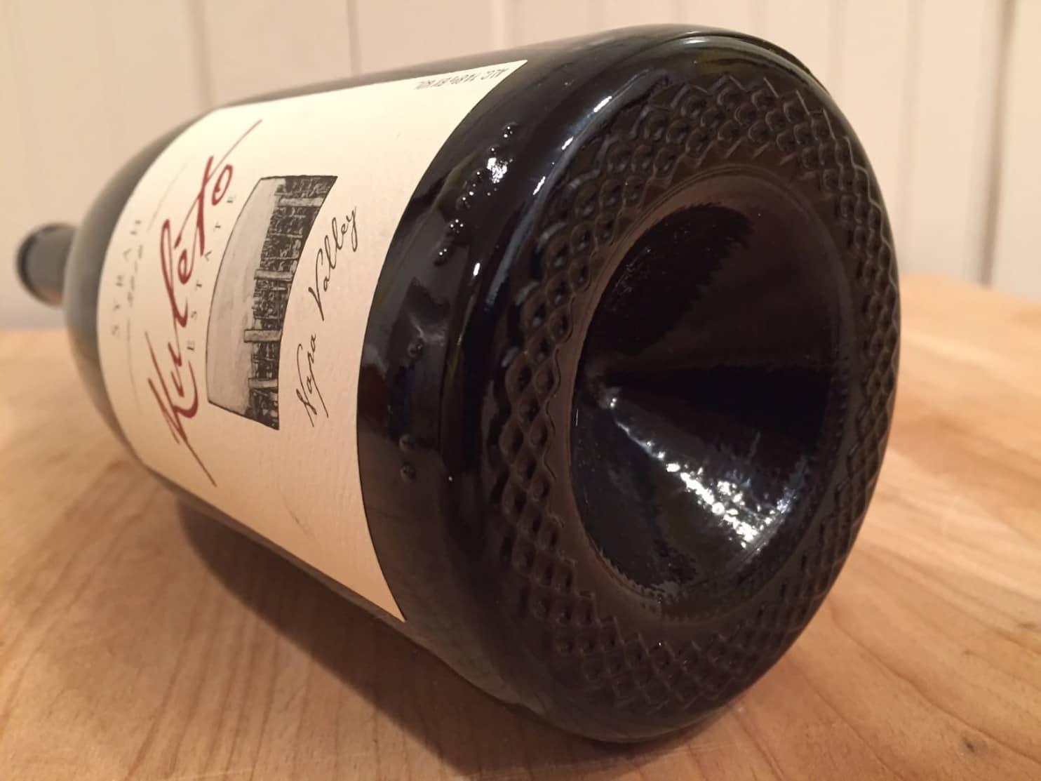 Dips In Wine Bottles