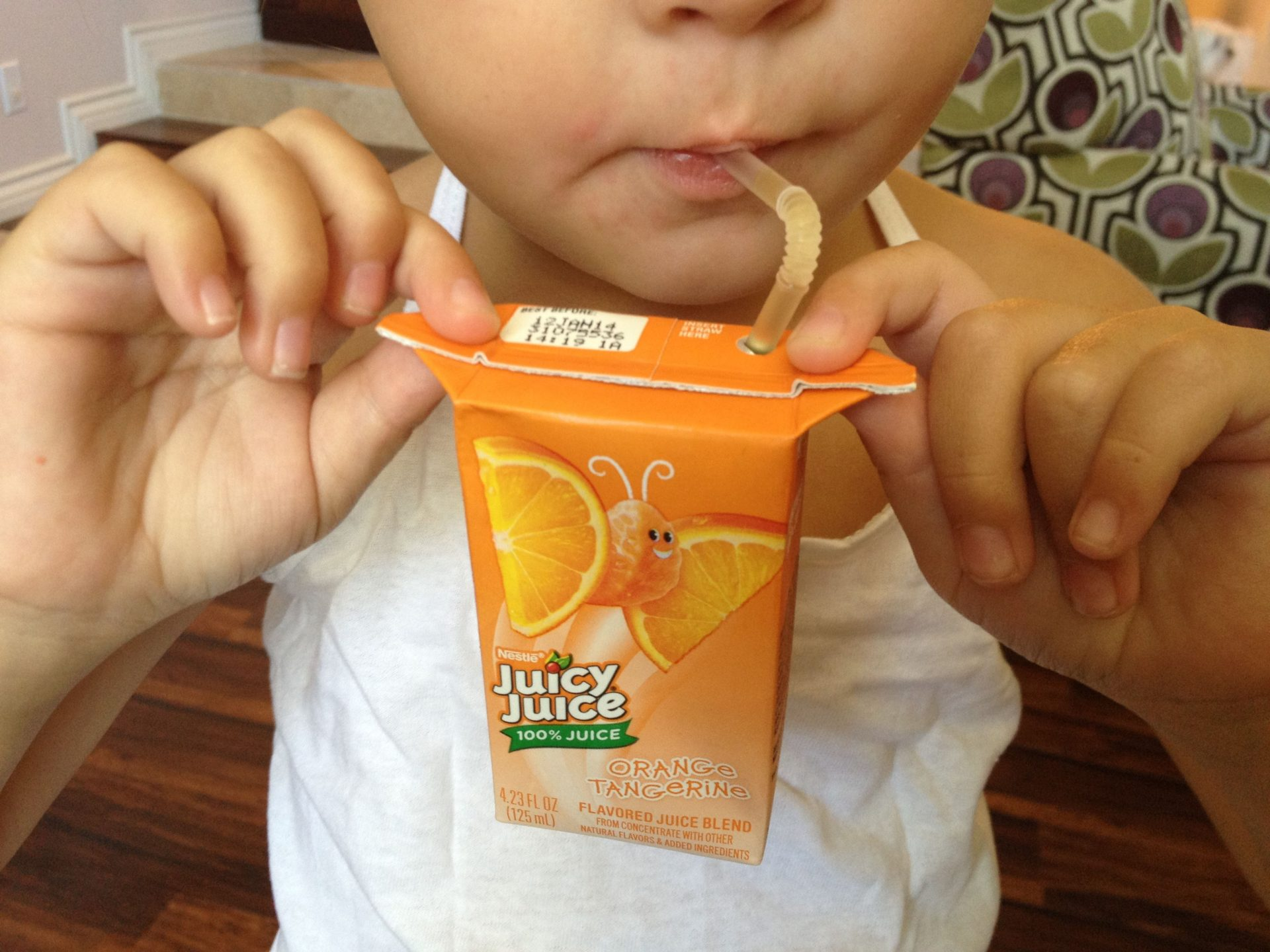 Flaps On Juice Boxes