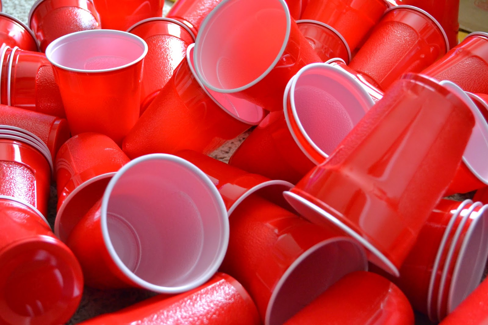 Lines In Red Solo Cups