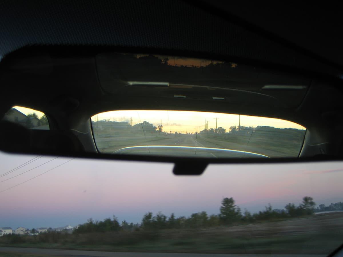 Rearview Mirror Tab
