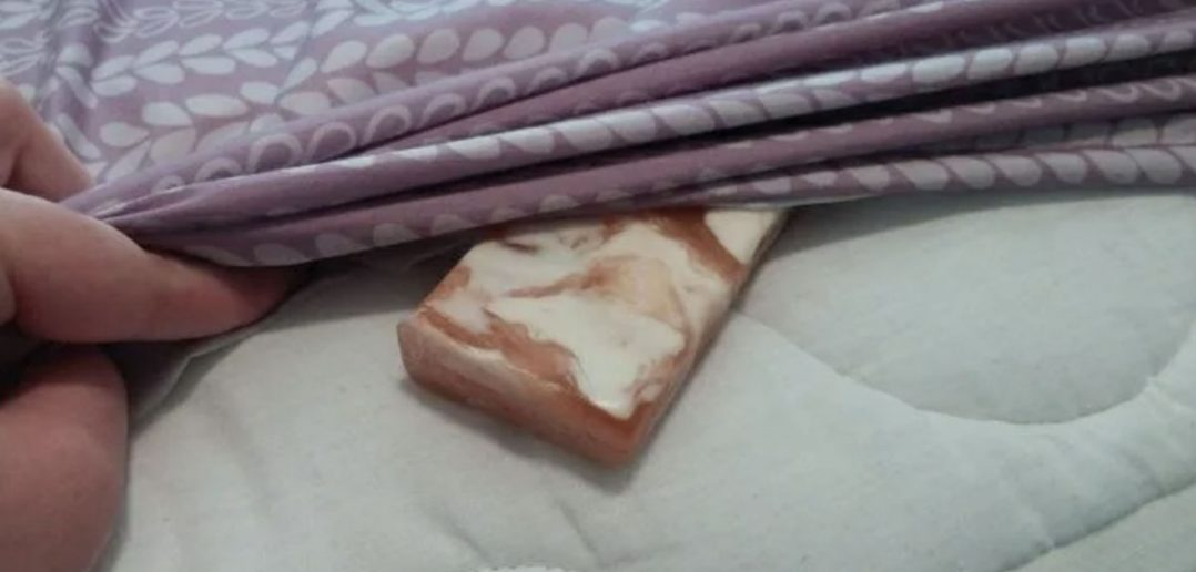 A Bar Of Soap Under The Sheets