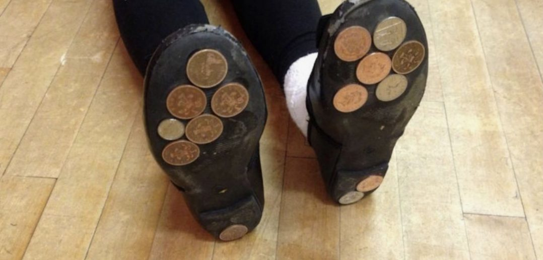 Glue Coins To Shoes